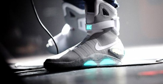 Nike's Self-lacing Air Mags - Back to the Future Sneakers Coming This Year