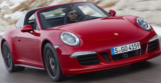 Porsche 911 Targa 4 GTS Has Arrived