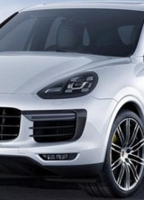 Porsche Cayenne Turbo S At Detroit Motor Show