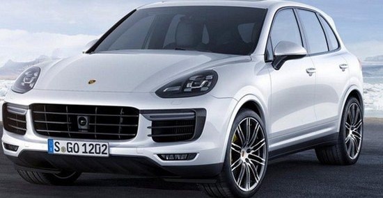 Porsche Cayenne Turbo S At Detroit Motor Show
