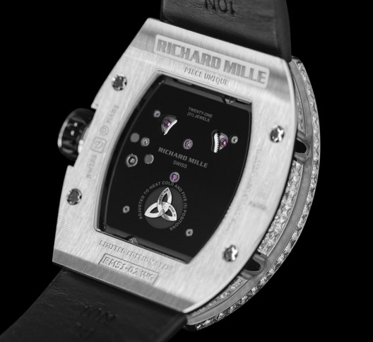 Richard Mille's RM51-02 Tourbillon Diamond Twister