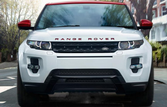 Range rover evoque nw8 limited edition extravaganzi - Range rover with red leather interior ...
