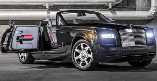 Rolls-Royce, only for US customers, has offered special edition of its model Phantom Drophead Coupe