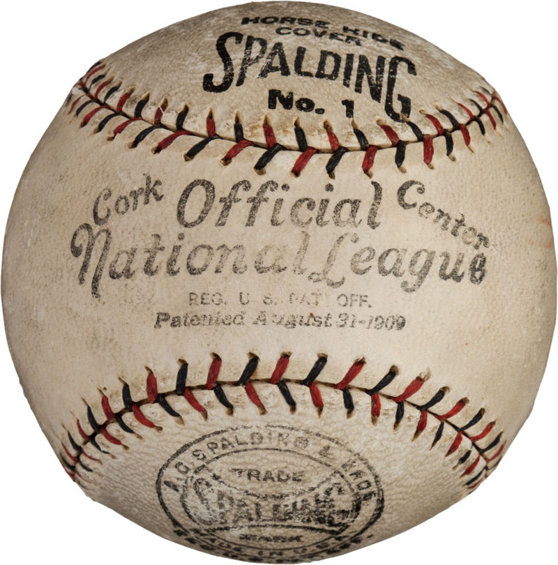 Rare And Unique Single Signed Baseballs at Heritage Auctions' Platinum Night