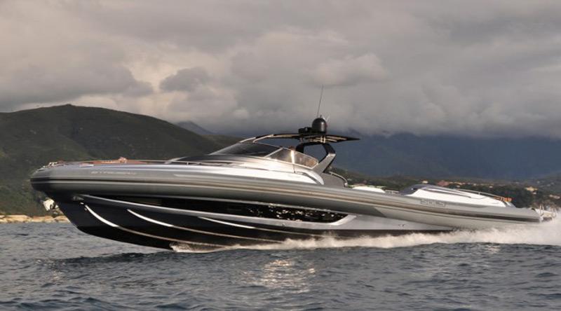 Sacs Marine's New Striking Strider 19 Mega Yacht Tender