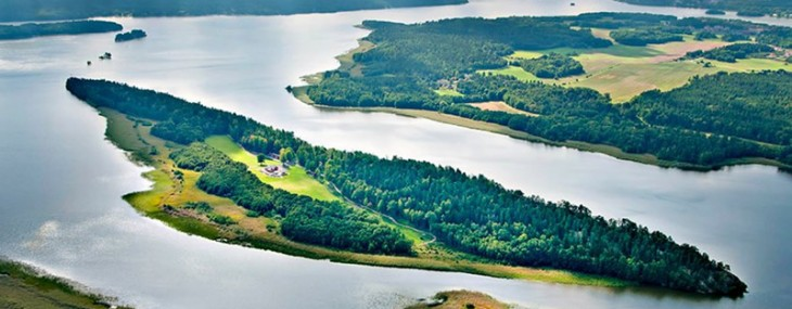 Tiger Woods' Former Luxury Swedish Island on Sale