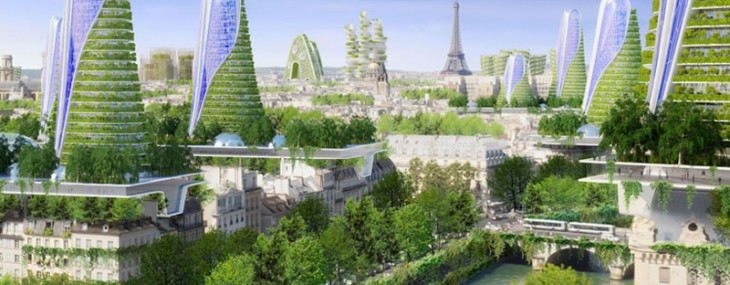 Vincent Callebaut's Plans for Paris - Smart City of the Future