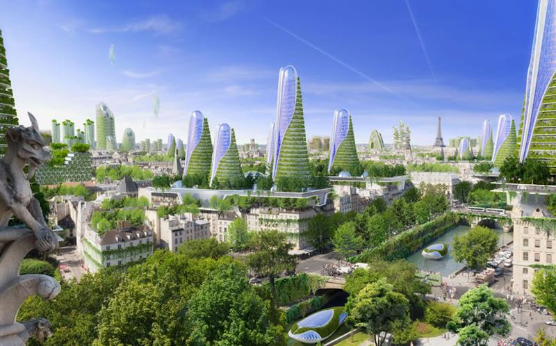 Vincent Callebaut S Plans For Paris Smart City Of The
