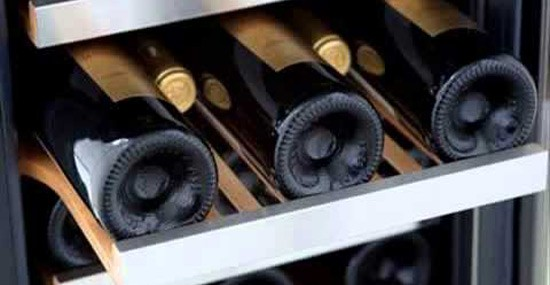 "Haier debuted its World's First ""No-Compressor Wine Cabinet"" at 2015 CES"