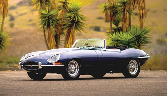 Rare 1966 Jaguar E-Type Series I 4.2 Roadster at Auction