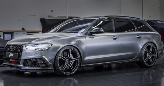 ABT Sportsline Audi RS6-R Avant And ABT Audi TT At Geneva Motor Show