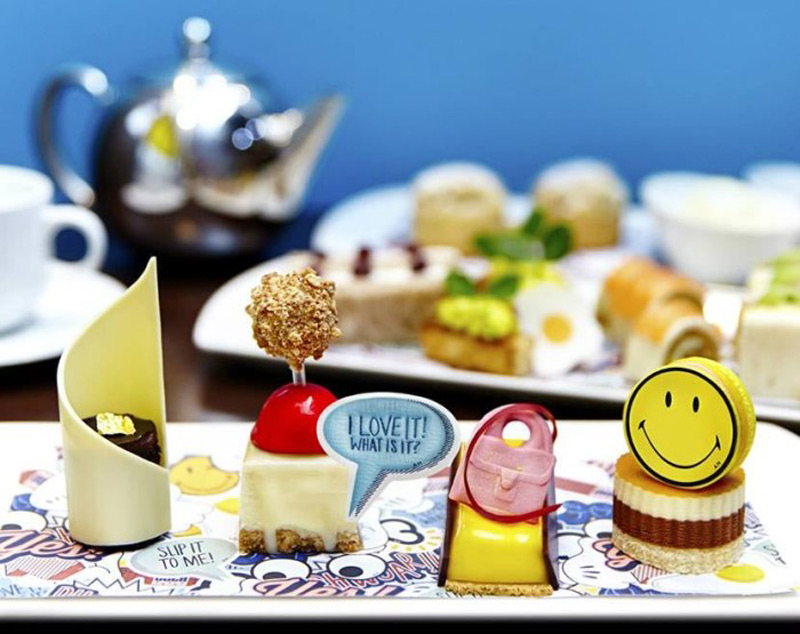 Anya Hindmarch Afternoon Tea in London