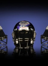 Luxury Football Helmet Collection for Super Bowl XLIX by Armorie Steele