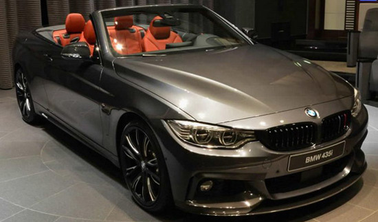 BMW Abu Dhabi Motors has now showed special BMW 435i Convertible M Performance version