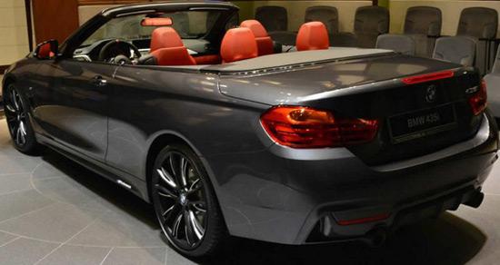 bmw 435i convertible m performance extravaganzi. Black Bedroom Furniture Sets. Home Design Ideas