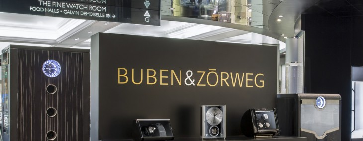 BUBEN&ZORWEG Opens Pop-up at Harrods