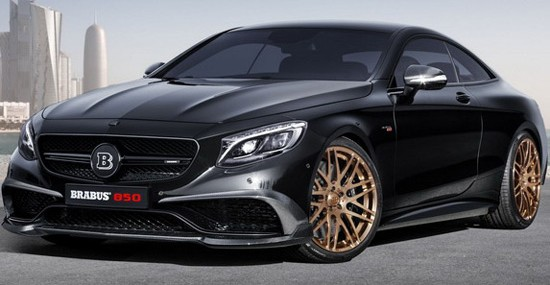 Brabus 850 BiTurbo Coupe 6.0 At Geneva Motor Show