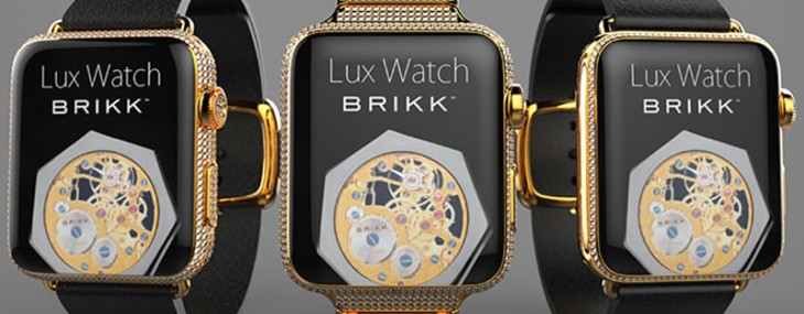 Brikk Launches Lux Version of Apple Watch