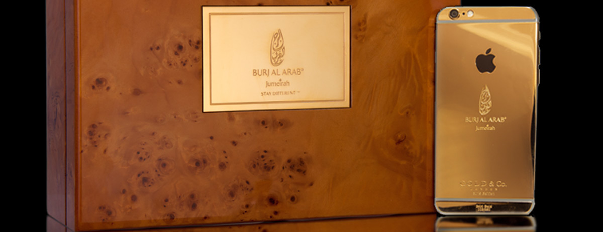 To celebrate its 15th anniversary, Burj al-Arab Hotel has ordered 30 copies of the iPhone 6 devices made of gold