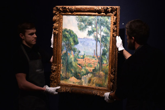 Cezanne Landscape Sold for $20.5 Million at Christie's Auction