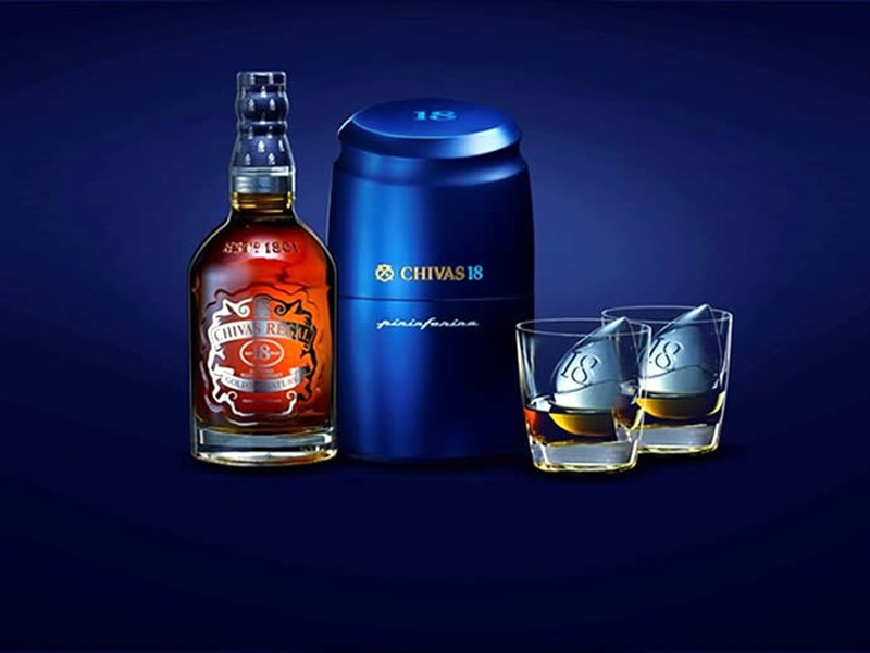 Chivas 18 by Pininfarina Chapter 2 - Limited Edition Ice Press