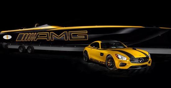 Mercedes AMG Cigarette Racing 50 Marauder GT S