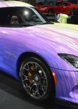 A Unique Dodge Viper GTC At The Chicago Motor Show