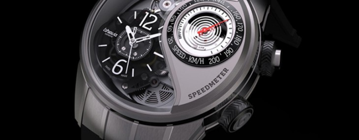 Génie 03 by Breva Geneve - World's First Wristwatch With  Functional Speedometer