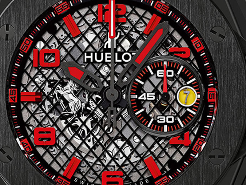 Hublot Introduces Big Bang Ferrari Ceramic in Black and Grey