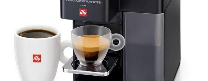 New Illy Francis Francis Y5 Duo - Espresso And Coffee Machine In One