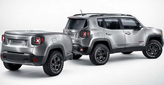 Jeep Renegade Hard Steel At Geneva Motor Show