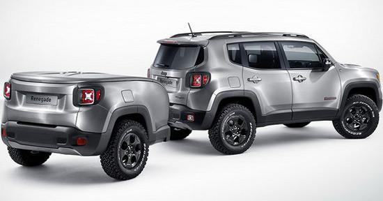 Jeep Renegade Hard Steel At Geneva Motor Show