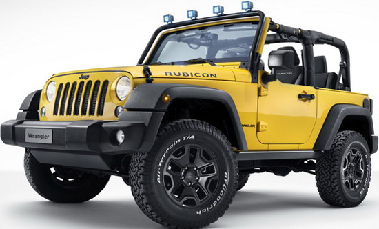 Jeep Wrangler Rocks Star Special Edition