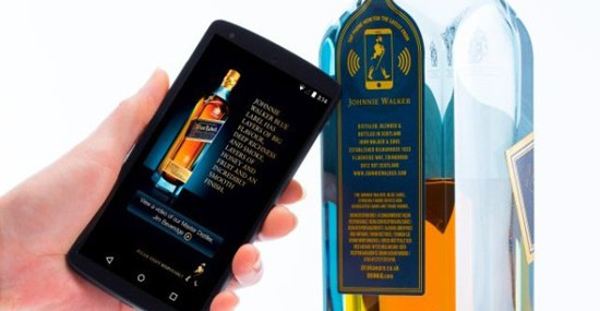 Johnnie Walker to debut 'smart bottle'
