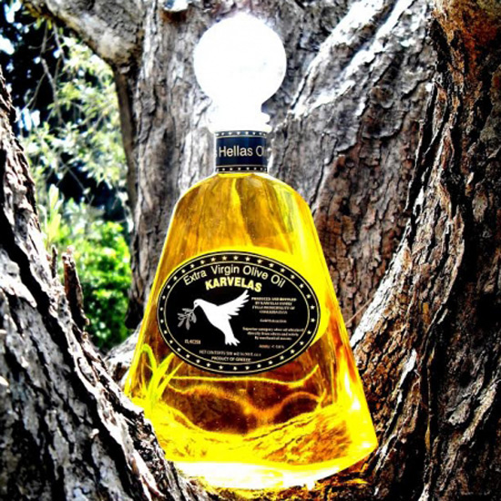 Karvelas Hellas Olive Oil Gift Box