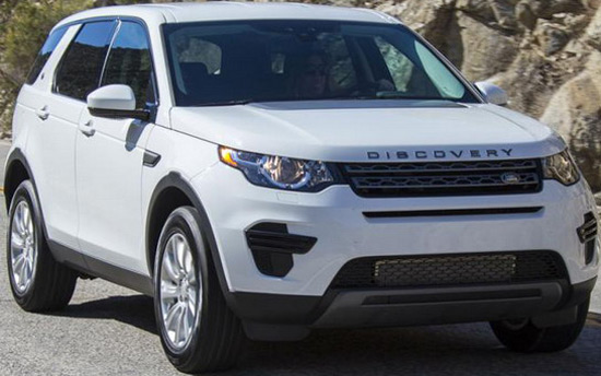 Land Rover is on the event, Palm Springs Modernism Week 2015, introduced a limited edition of its model Discovery Sport