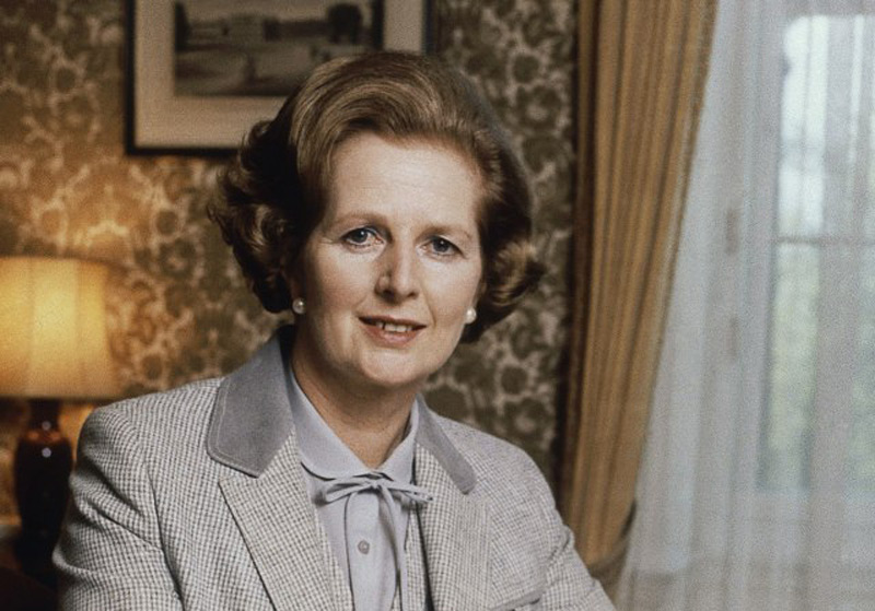 Napkin With Lipstick Imprint Of Margaret Thatcher For $3,000