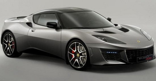 Lotus Evora 400 at the Geneva Motor Show