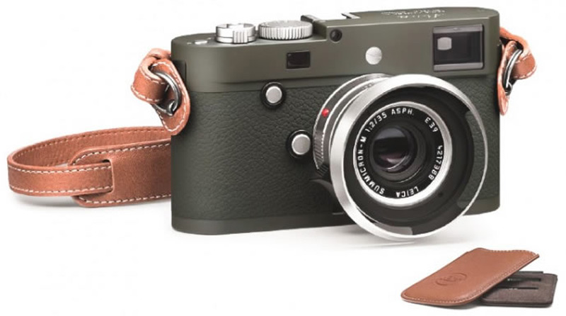 Leica New M-P Typ 240 Safari Edition Kit