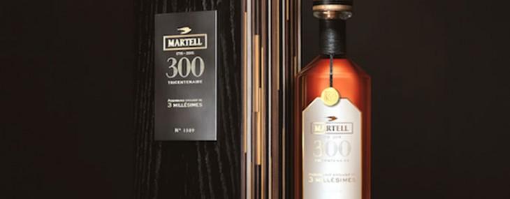 Martell's New Assemblage Exclusif de 3 Millesimes Cognac
