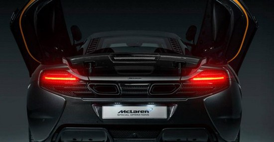 McLaren 650S Project Kilo Special Edition