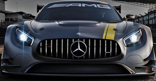 Mercedes-AMG GT3 At Geneva Motor Show