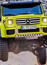 Mercedes-Benz G 500 4×4² At Geneva Motor Show