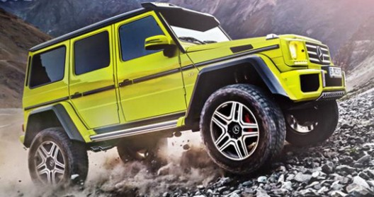 Mercedes-Benz G 500 4×4² At Geneva Motor Show