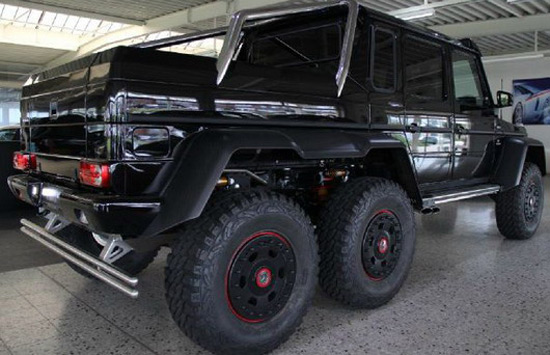 Mercedes G63 Amg 6x6 On Sale For 1 Million Extravaganzi