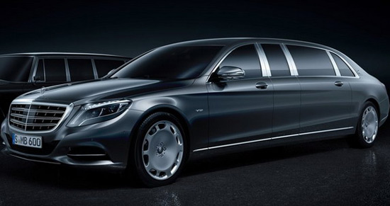 Luxury Mercedes Maybach Pullman - Officially