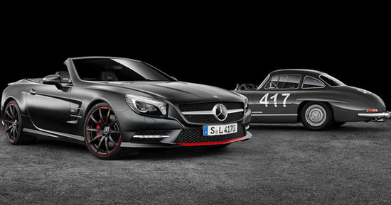 Mercedes SL 417 Mille Miglia Special Edition