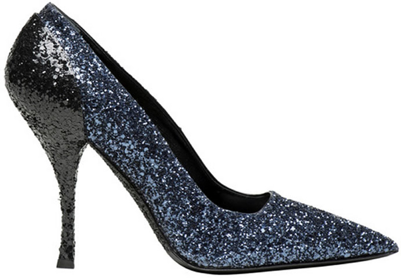 Miu Miu New Glitter Shoes Collection for Bon Marché