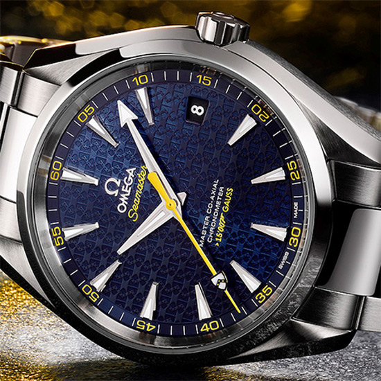 Omega Seamaster Aqua Terra 150M James Bond Limited Edition