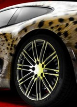 Porsche 911 Carrera With Cheetah Design